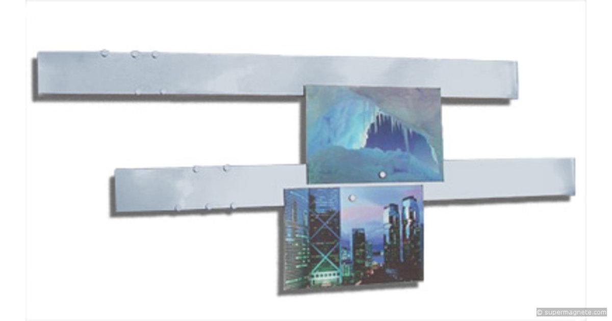 magnetleisten magnetschienen aus edelstahl. Black Bedroom Furniture Sets. Home Design Ideas