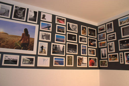 magnet applications photo wall with magnetic paint. Black Bedroom Furniture Sets. Home Design Ideas