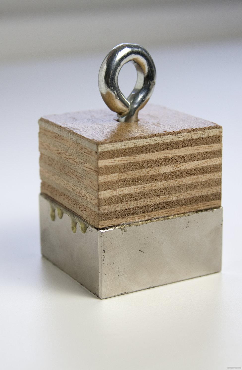 haftkraft von magneten bestimmen seri se methode. Black Bedroom Furniture Sets. Home Design Ideas