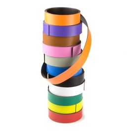 Coloured magnetic tape 20 mm for labelling and cutting, rolls of 1 m
