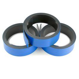 Nastro magnetico colorato 20 mm da scrivere e tagliare, rotoli da 1 m, blu