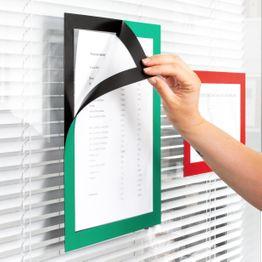 Magnet-Rahmen selbstklebend A4 zum Aufhängen von Hinweisen, Format A4