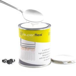 superflex grondering ideaal voor superflex producten, wit, 750 ml, voor een oppervlakte van ca 6 m²