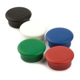 Boston Xtra Mini round set of 10 office magnets neodymium, Ø 20 mm
