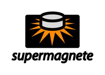 The new supermagnete logo