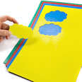 for whiteboards & planning boards, 10 symbols per A4 sheet, in different colours