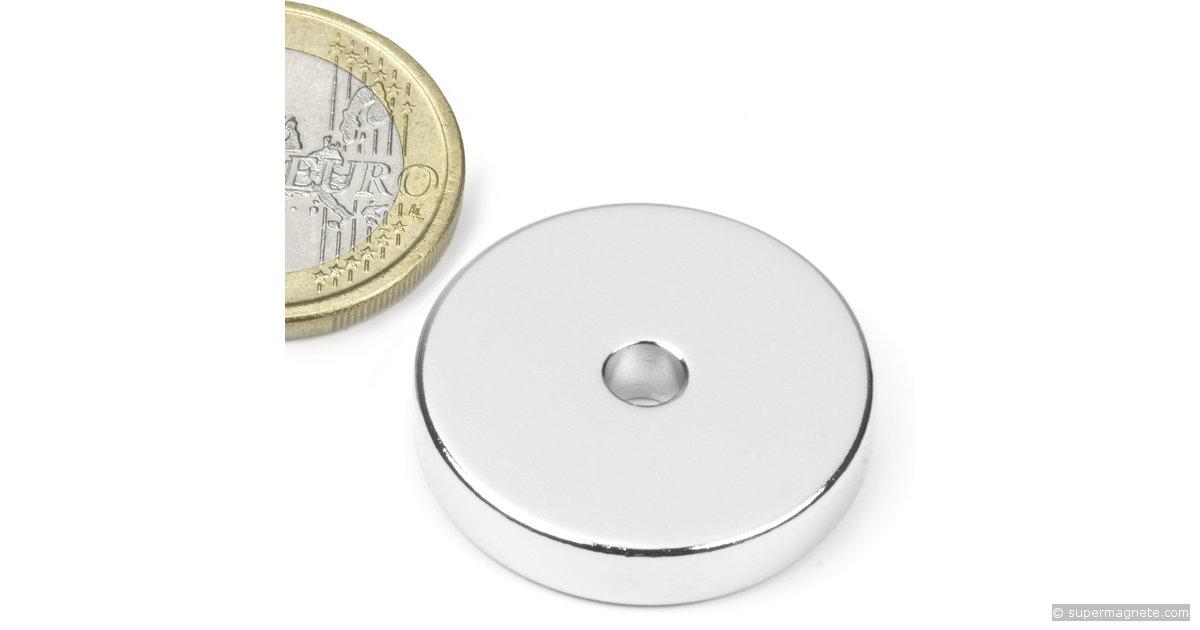 ringmagnete magnetringe magnete mit loch 25 x 4 2 x 5 mm r 25 04 05 n supermagnete. Black Bedroom Furniture Sets. Home Design Ideas