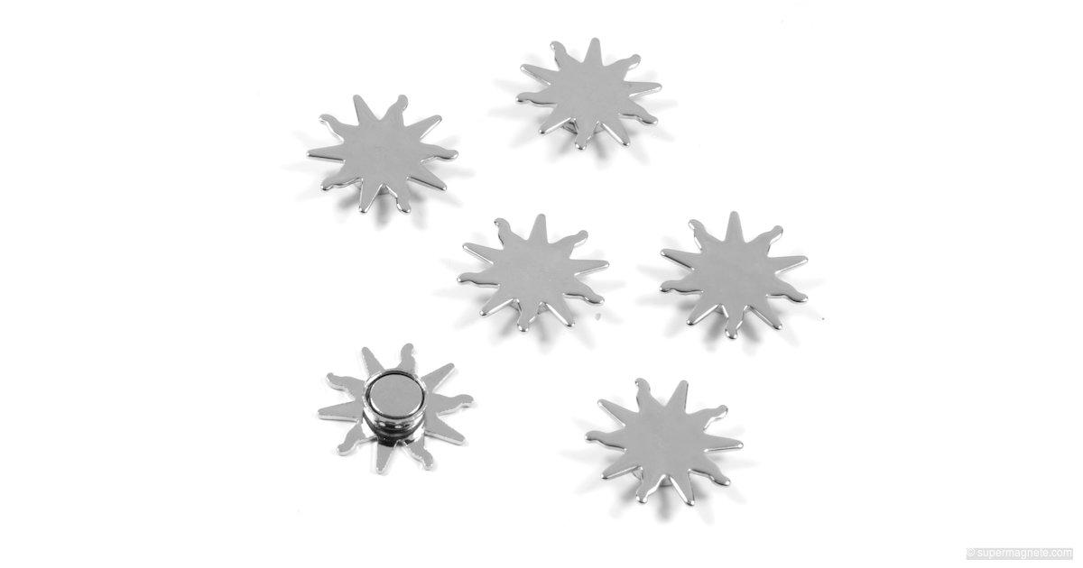 sun magnets magnete in form einer sonne sale 111 neodym magnete supermagnete. Black Bedroom Furniture Sets. Home Design Ideas