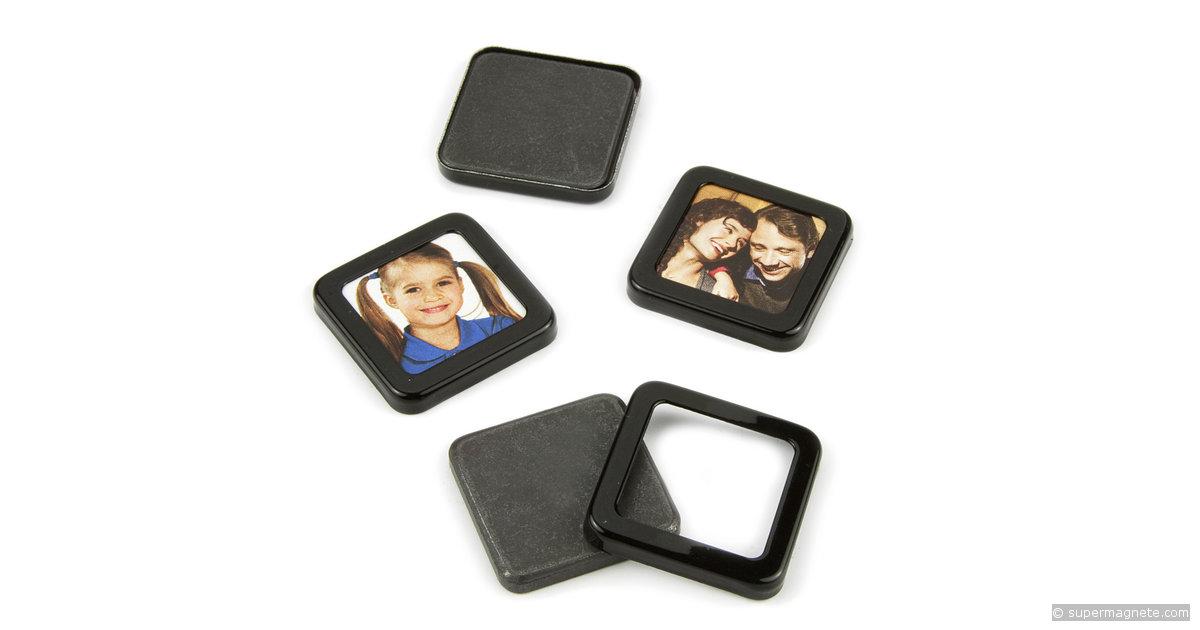 magnet bilderrahmen mini f r k hlschrank supermagnete. Black Bedroom Furniture Sets. Home Design Ideas