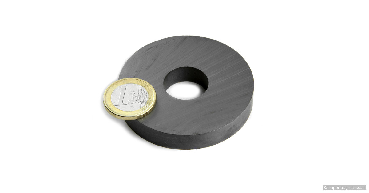 Fe R 60 20 10 Ring Magnet 216 60 20 Mm Height 10 Mm