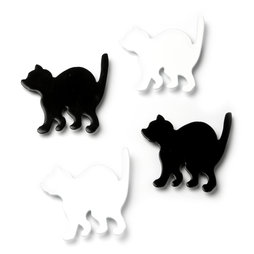 LIV-69, Kitty, cat fridge magnets, set of 4