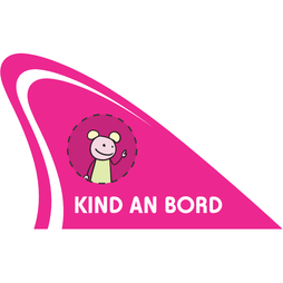 M-58/kind, Fun fin, magnetic fun item for your car, 'Kind an Bord'