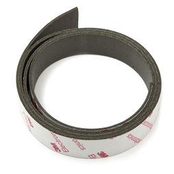 NMT-20-STIC/01m, Cinta magnética adhesiva neodimio 20 mm, cinta magnética autoadhesiva, fuerza de sujeción extrafuerte, rollo de 1 m