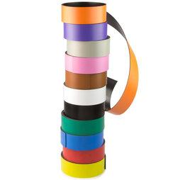 MT-30, Bande magnétique couleur 30 mm, pour y écrire et pour découper, rouleaux d'1 m