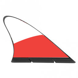 M-42/pol, Aileron de requin drapeau, drapeau magnétique pour la voiture, Pologne