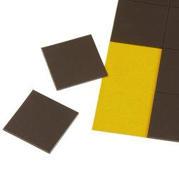 MS-TAKKI-02, Takkis 30 x 30 mm, plaquitas magnéticas adhesivas, 20 plaquitas por hoja