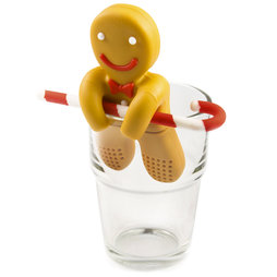 M-72, Tea infuser Gingerbread Man, not magnetic!