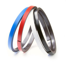 MT-07, Coloured magnetic tape 7 mm, for labelling and cutting, rolls of 1 m