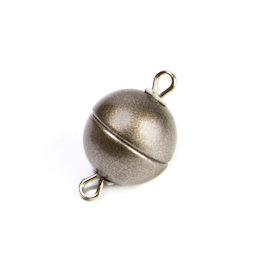 SV-ES-08, Chiusura magnetica per gioielli rotonda piccola, per collane / bracciali, Ø 8 mm