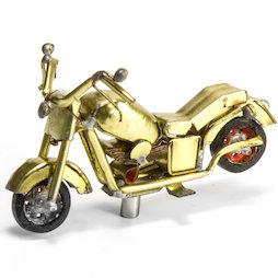 MCAR-01/motorbike, MadagasCAR, mini-voertuigjes uit oude blikken, motorfiets