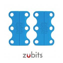 M-ZUB-01/sky, Zubits® S, lacci magnetici per le scarpe, per bambini & anziani, azzurro