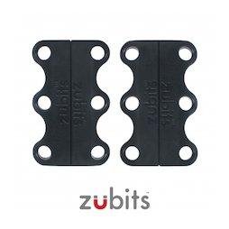 M-ZUB-01/black, Zubits® S, magnetische Schuhbinder, für Kinder & Senioren, schwarz