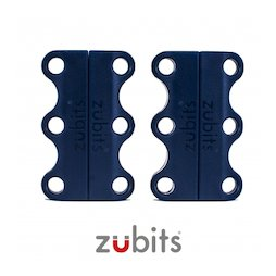 M-ZUB-01/blue, Zubits® S, magnetische Schuhbinder, für Kinder & Senioren, blau