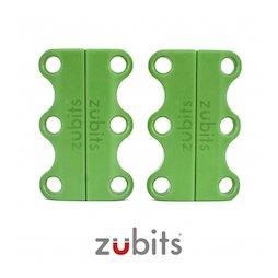 M-ZUB-01/green, Zubits® S, lacci magnetici per le scarpe, per bambini & anziani, verde