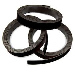 MT-10/black, Farbiges Magnetband 10 mm, zum selber Beschriften und Zuschneiden, Rollen à 1 m, schwarz