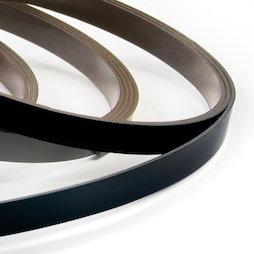 MT-07/black, Bande magnétique couleur 7 mm, pour y écrire et pour découper, rouleaux d'1 m, noir