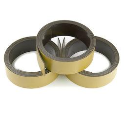 MT-20/gold, Nastro magnetico colorato 20 mm, da scrivere e tagliare, rotoli da 1 m, color oro