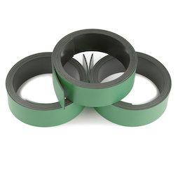 MT-20/green, Nastro magnetico colorato 20 mm, da scrivere e tagliare, rotoli da 1 m, verde