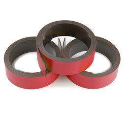MT-20/red, Cinta magnética de colores 20 mm, para rotular y cortar, rollos de 1 m, rojo