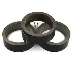 MT-20/black, Nastro magnetico nero 20 mm, da ritagliare per etichettare, rotoli da 1 m