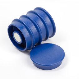 BX-RD30-BULK/blue, Boston Xtra rotondi 25 pezzi, confezione grande con 25 magneti per l'ufficio al neodimio