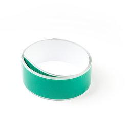 M-FERROTAPE/1m, Metaalband zelfklevend wit, zelfklevende hechtoppervlak voor magneten, rollen à 1 m / 5 m / 25 m, rol à 1 m