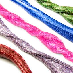 M-PUTTY-GLITTER, Pasta intelligente Glitter, con brillantini, diversi colori, non magnetica!