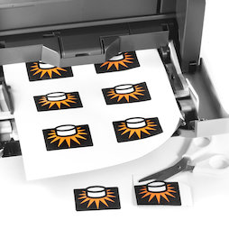 image relating to Laser Printable Magnetic Sheets known as Magnetic paper shiny