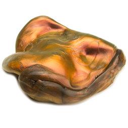 M-PUTTY-IRIS/lava, Silly Putty 'Super Lava', type 'Flip Flop', orange-gold-black