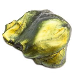 M-PUTTY-IRIS/oil, Silly Putty 'Super Oil Spill', type 'Flip Flop', green-gold-black