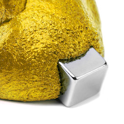 M-PUTTY-FERRO/gold, Thinking Putty magnetic, ferromagnetic putty, gold-coloured, magnet not included