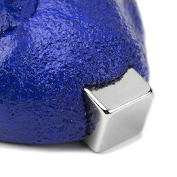 M-PUTTY-FERRO/blue, Thinking Putty magnetic blue, ferromagnetic putty, blue, magnet not included