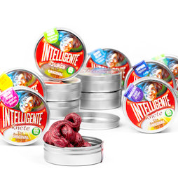 M-PUTTY-MINI, Thinking Putty 'Mini', different colours, in small tins, not magnetic!