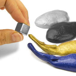 M-PUTTY-FERRO, Thinking Putty magnetic, ferromagnetic putty, different colours, magnet not included