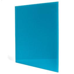 GMBB-4550/turq, Panel de notas cristal cuadrado, 45 x 50 cm, en diferentes colores