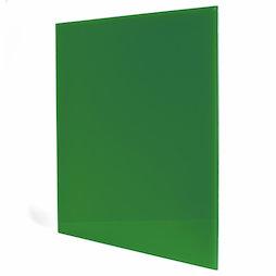 GMBB-4550/green, Panel de notas cristal cuadrado, 45 x 50 cm, en diferentes colores