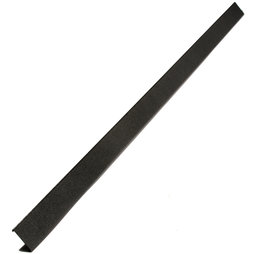 MB-01, Magnetic strip black 80 cm, surface for magnets, with magnetic mounting, incl. 10 strong magnets