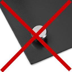 magnetfolie selbstklebend magnetklebefolie schwarz format a4 supermagnete. Black Bedroom Furniture Sets. Home Design Ideas