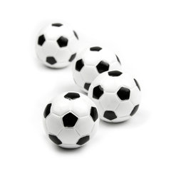 LIV-45, Calcetto, magneti decorativi a forma di pallone da calcio, set da 4