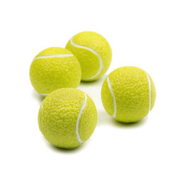 LIV-46, Grand Slam, deco magnets in the shape of a tennis ball, set of 4